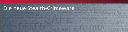 Stealth Crimeware